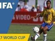 20年前的今天,小罗在U17世界杯中捧起生涯首座世界冠军奖杯
