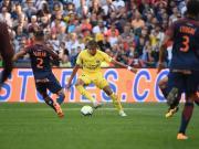 巴黎0-0客平蒙彼利埃,开局八连胜被终结,内马尔伤缺
