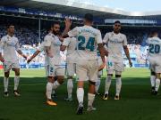 皇马2-1客胜阿拉维斯,塞瓦略斯梅开二度,C罗两中柱
