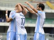 比赛集锦:维罗纳 0-3 拉齐奥