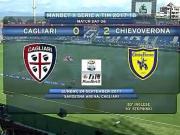 比赛集锦:卡利亚里 0-2 切沃