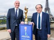 2019女足世界杯官方标识及口号正式揭晓