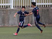 南华重组踢港甲,14岁小将进球