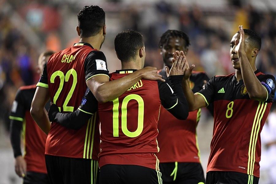 火力强,比利时进球数并列第一