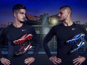 耐克发布黑蓝限量Hypervenom GX足球鞋