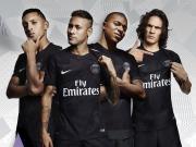 好看!耐克迷彩模板之巴黎纯黑欧冠版10号JR球衣实拍大赏