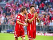 大喜娱乐官网集锦:拜仁慕尼黑 5-0 弗赖堡