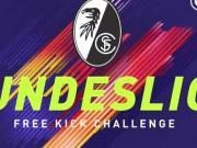 弗赖堡FIFA 18任意球挑战赛,射失两球也能独占鳌头