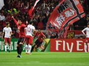 上港0-1客负浦和,总比分1-2无缘亚冠决赛,埃神失良机