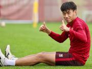 图集:华夏幸福备战训练,张呈栋竖大拇指笑容满面