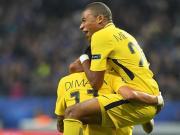 8粒进球,姆巴佩成为20岁前在欧冠进球最多的球员