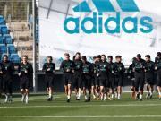 皇马训练图集:纳瓦斯、瓦拉内缺席合练,青训门将继续参训
