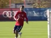 贝尔纳特开始有球训练,看来拜仁边翼离伤愈复出不远了
