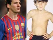 看梅西小时候踢球的样子,那时就已经这么厉害了