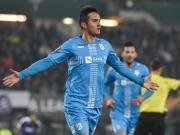 加夫拉诺维奇梅开二度,里耶卡3-1奥地利维也纳取欧联首胜