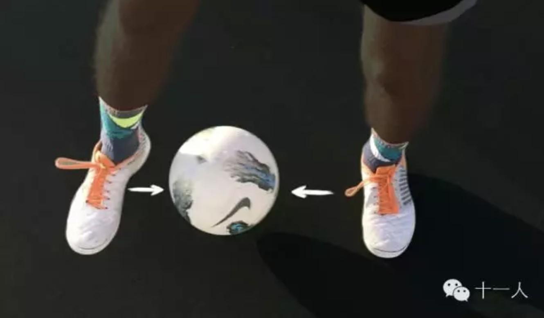 足球基础:五个小技巧提高你在控球时的脚下频