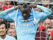 Why always me?6年前今天曼城6比1曼联,巴神霸气庆祝成经典