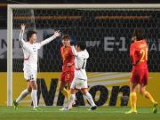 比赛集锦:中国女足 0-2 朝鲜女足