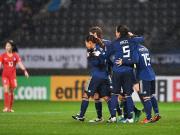 比赛集锦:日本女足 3-2 韩国女足