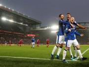 比赛集锦:利物浦 1-1 埃弗顿