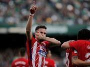 比赛集锦:皇家贝蒂斯 0-1 马德里竞技