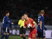 比赛集锦:日本 2-1 国足