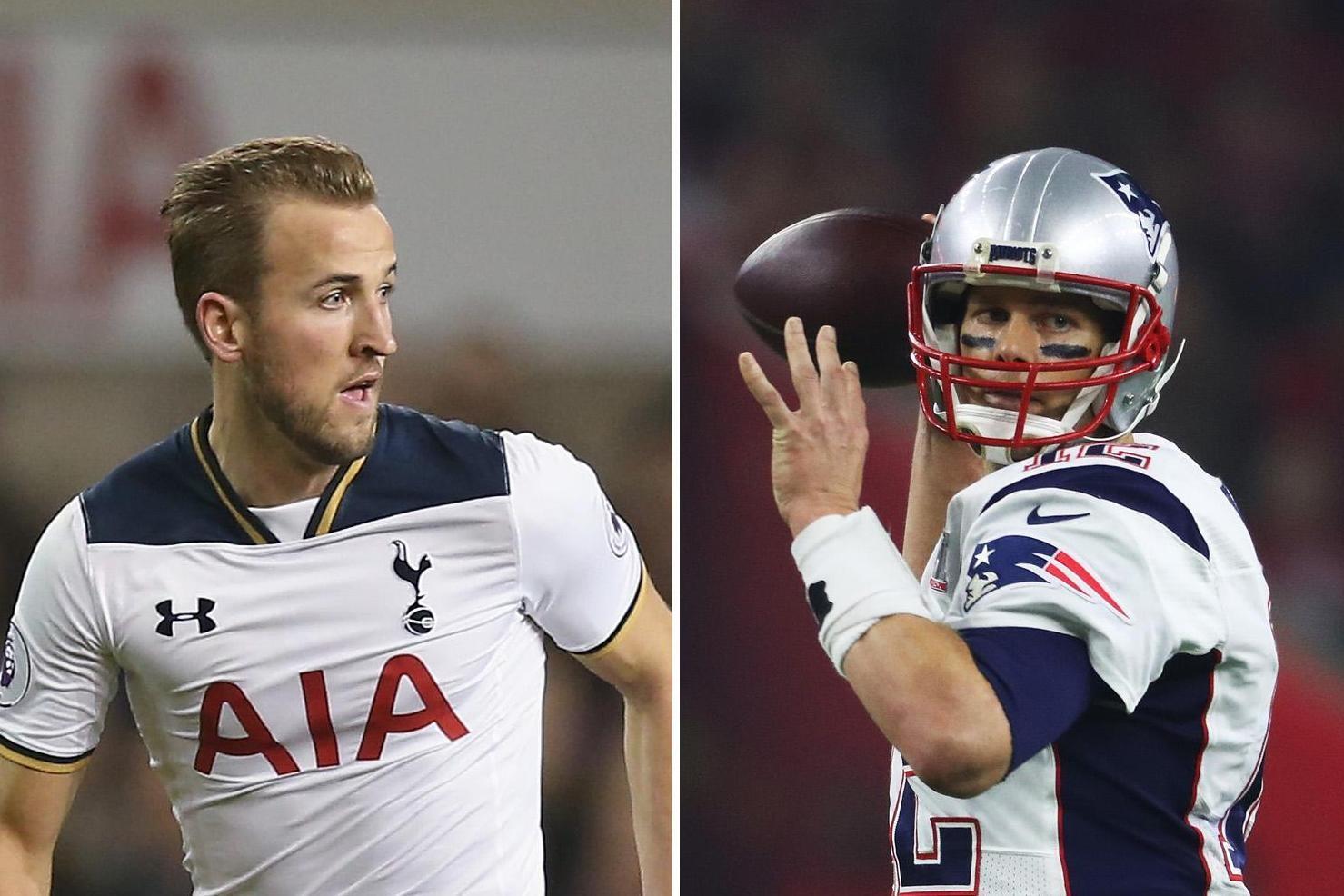 哈里-凯恩:向橄榄球巨星汤姆-布雷迪看齐,做最好的自己