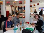 庆中国新年,巴黎球员餐厅换装