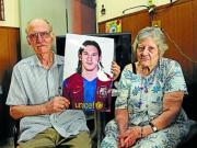 梅西外祖父去世,终年80岁