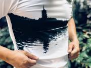 原创摄影:球衣上的西湖雷峰塔
