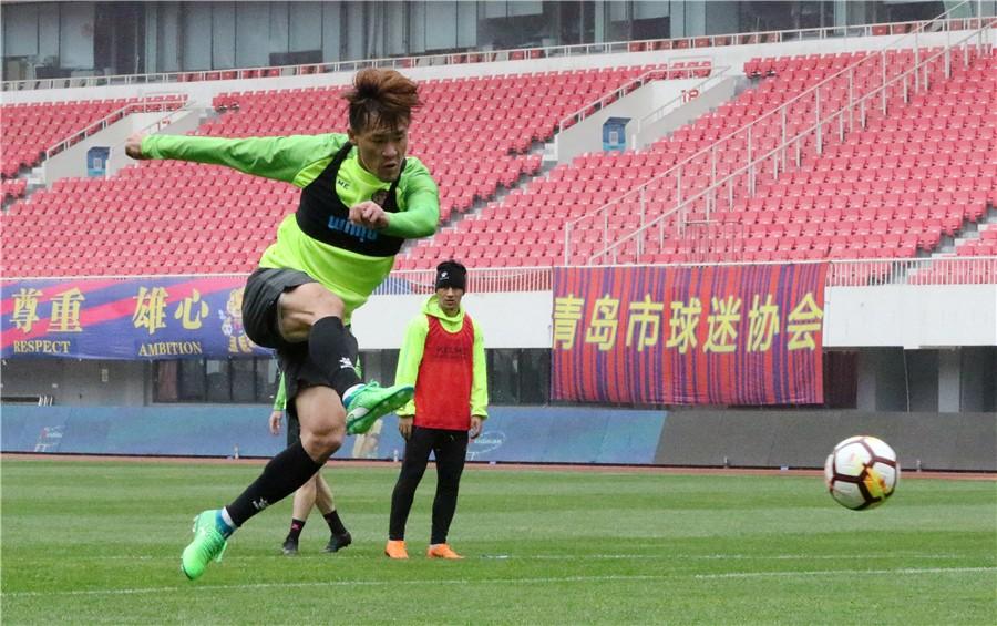 明天(周日)下午15点30分,青岛黄海足球队将在主场迎战北京北控燕京