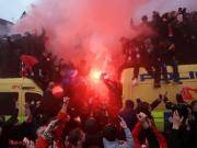 球迷骚乱,利物浦被欧足联指控