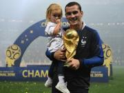 格列兹曼:希望女儿能自豪地走进校园说我爸爸是世界冠军