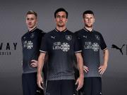 银色闪耀!伯恩利2018-19赛季客场球衣发布!
