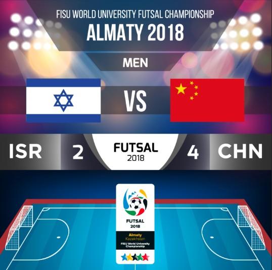 世界大学生五人制足球锦标赛中国队首战告捷 — 懂球帝