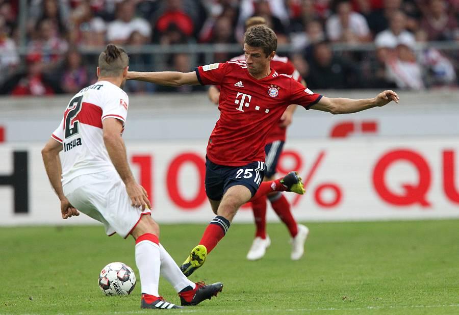 拜仁八月最佳球员:穆勒 — 拜仁慕尼黑|托马斯-穆勒