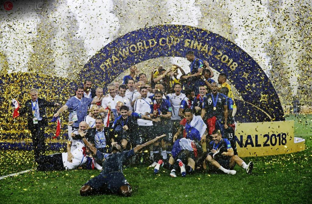 世界杯夺冠,法国队会被授勋 — 法国|德尚|懂球帝