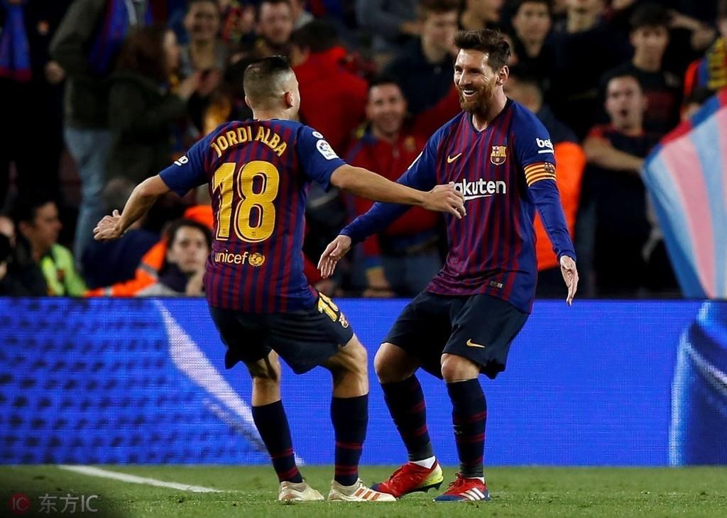 阿尔巴:我想在巴萨退役 — 巴塞罗那|阿尔巴|梅西|懂图片