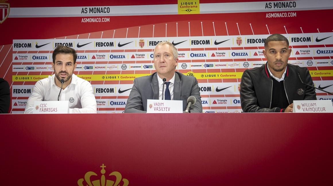 法布雷加斯出席新援碰头会,摩纳哥流露巴舒亚伊转会掉败