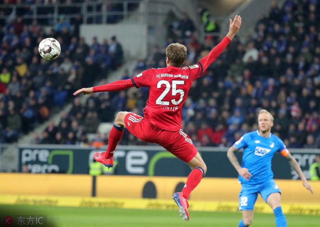 半场战报:霍芬海姆0-2拜仁