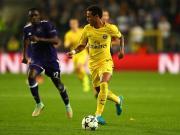 比赛集锦:安德莱赫特 0-4 巴黎圣日耳曼