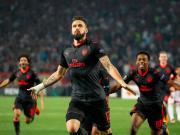 比赛集锦:贝尔格莱德红星 0-1 阿森纳