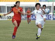 比赛集锦:中国女足U19 0-2 朝鲜女足U19