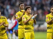 比赛集锦:法兰克福 2-2 多特蒙德