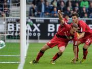 比赛集锦:门兴格拉德巴赫 1-5 勒沃库森