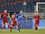 比赛集锦: 重庆当代力帆 1-1 上海绿地申花
