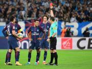 比赛集锦:马赛 2-2 巴黎圣日耳曼