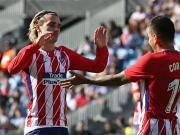 比赛集锦:塞尔塔 0-1 马德里竞技
