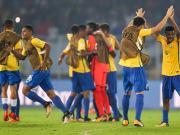 比赛集锦:德国U17 1-2 巴西U17