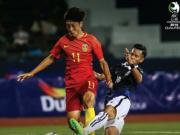 比赛集锦:中国U19 1-0 柬埔寨U19